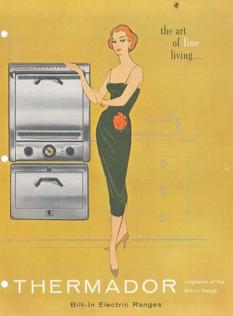 Thermador Electric Range of 1940s